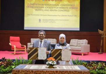 The Fifth International Conferences of Indonesian Society for Remote Sensing (ICOIRS)