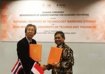 MoU Signing Ceremony Between Itenas and KMUTT