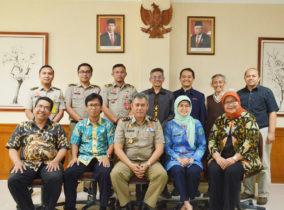 Kunjungan Badan Pertanahan Nasional Kota Bandung ke Itenas