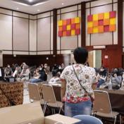 Pelaksanaan Gladi Bersih Gebyar 5000 Vaksinasi Massal untuk Warga Ber-KTP Kota Bandung