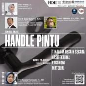 Handle Pintu – Tinjauan Desain Secara Arsitektural Ergonomi Material